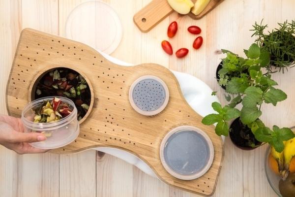 在家,也能讓廚餘回歸自然-BIOVESSEL 不插電居家廚餘處理器