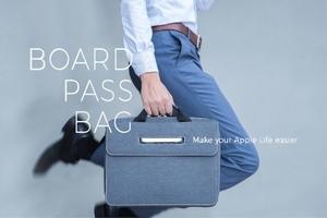 果粉們看過來!史上第一個 Apple 專屬訂製包-BoardPass 博思包