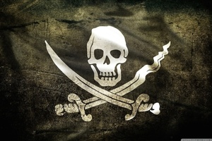 Thumb pirate flag 2 wallpaper 1280x800