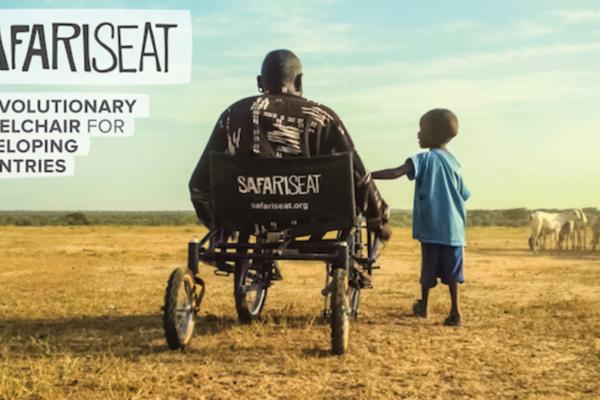 開源式輪椅 SafariSeat,低負擔、易維修、適應多種地形