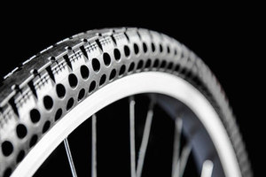 Thumb airless flat free tire bike nexo 8