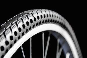 Thumb airless flat free tire bike nexo 8
