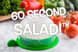 一次切好多種蔬果!60 秒輕鬆上桌的沙拉製作器