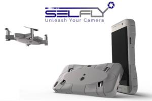 是手機殼也是「漂浮自拍神機」的 SELFLY Camera