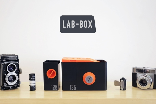 沖底片不用進暗房:LAB-BOX 隨身沖片套組