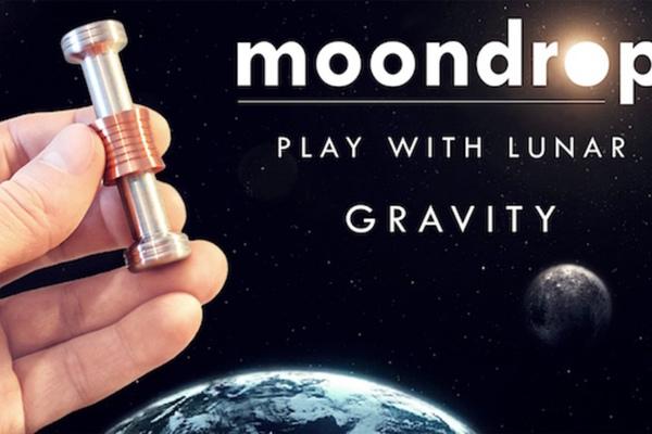 用月球的重力加速度幫你減緩焦慮的療癒系玩具 MOONDROP