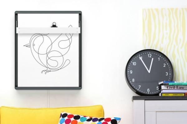 自動畫/話的智慧壁畫顯示器 Joto,一個畫框百種用途
