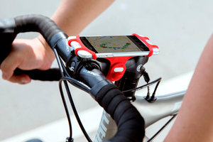 別再讓手機「被自殺」!Bike Tie Pro 固定手機徒手 3 秒搞定