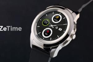 【瑞士設計】全球第一支整合傳統機械指針&全彩觸控螢幕的智慧手錶 ZeTime,30 天超強續電力