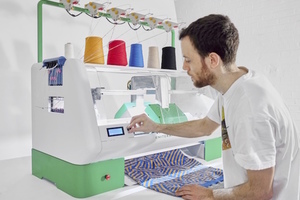 3D 針織印表機 Kniterate,你家的專屬裁縫師