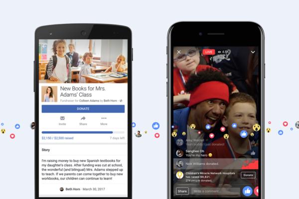 群眾集資更直覺?facebook 開放個人籌款功能,六大類別需求一鍵贊助