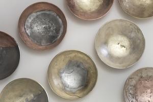 來自科威特的質感工藝:雙拼金屬碗