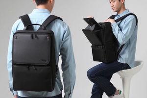 讓低頭族雙手自由的 Rollory—是背包也是手機平板的行動支架!