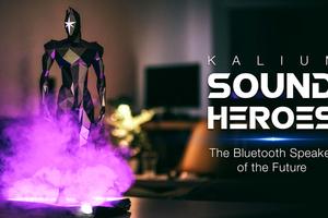 """最""""英雄""""氣勢的藍芽喇叭 Sound Heroes,音樂、燈光、煙霧通通催落去"""