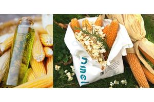 用整支玉米爆出來的健康原味!台灣農地契作 Cornmeleon 有梗爆米花