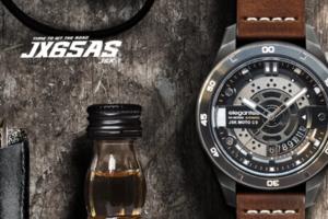 【台灣設計】搭載引擎的腕上悍將「JX65AS-JSK 重機腕錶」,用視覺享受飆風極速