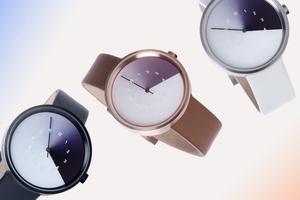 第一支用光影流動隱藏未來的錶 Hidden Time Watch,陪你一起做時間的好朋友