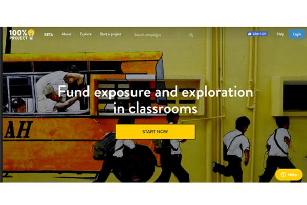 """款項憑證全公開!要把每一塊錢用在學童身上的 """"100% Project"""" 教育集資平台"""