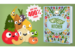 加入童心設計師的蔬食行列吧!《Simple Happy Kitchen》出版集資計劃
