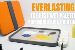 【上架一天3,300人贊助!】能讓顏料維持數天也水嫩好用的保水調色盤 Everlasting