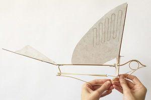 質感外表下的淡淡哀傷——紀念絕種旅鴿的飛行撲翼機玩具 Martha