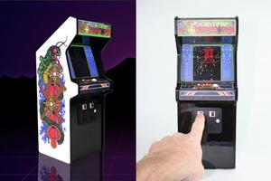 RepliCade 復刻街機縮小版,兩根手指就能玩