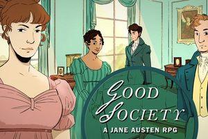 小說主角換你當!《Good Society》角色扮演遊戲,走進珍·奧斯汀筆下的愛恨情仇