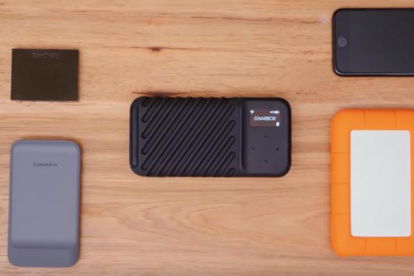 GNARBOX 2.0 SSD ,不只手機需要備份資料,相機也很需要!