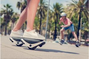 時尚最時尚的代步運動新選擇-- Drift W1 電子滑板鞋