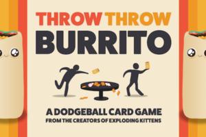 飛吧墨西哥捲餅!《Throw Throw Burrito》桌遊嗨翻全場