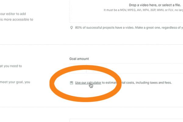 集資目標金額怎麼定?Kickstarter 推出免費計算機,為提案者試算合理區間