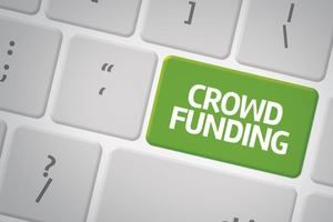 Thumb crowdfunding button