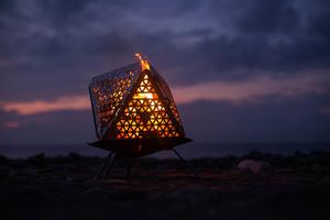 FOCANO 絕美透視感焚火台,讓你第一次露營生火就上手!