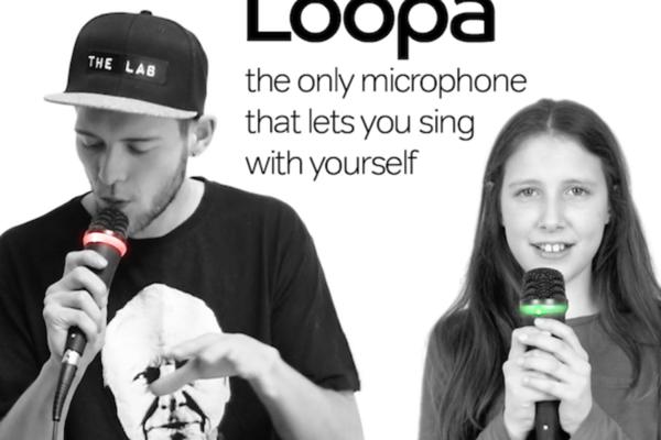 讓你可以跟自己一起唱歌的麥克風:Loopa