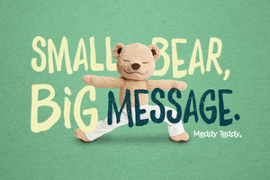 Thumb meddy teddy big message 1280x800 green rsymbol m9gmls