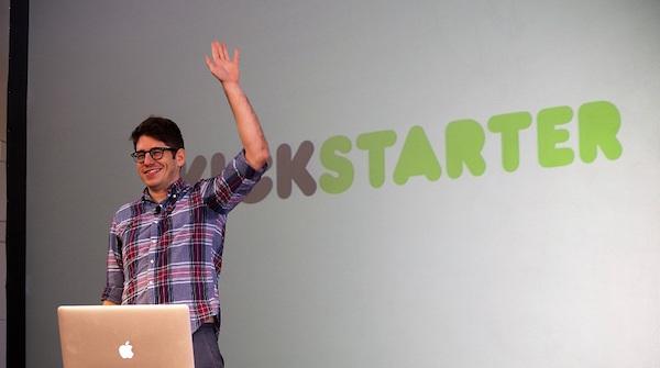 Kickstarter yancey strickler ceo