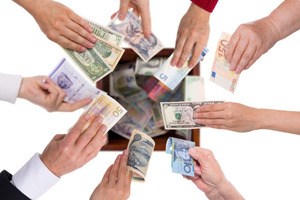 Thumb crowdfunding for events