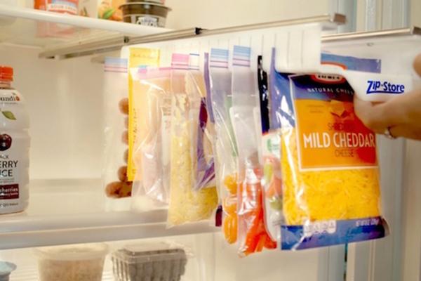 省錢省力省空間!讓食物排排站的收納架 Zip n Store