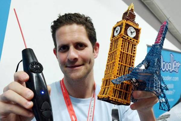 【眾力時代】不懂繪圖軟體也能體驗 3D 列印!用一支筆打開 3D 列印新世代:3Doodler 聯合創始人 Daniel Cowen